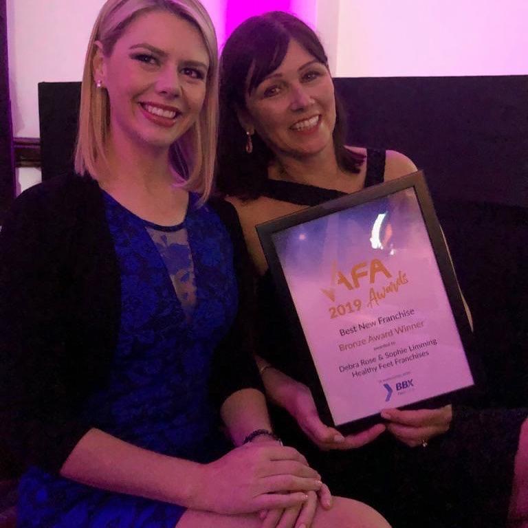 AFA Award Winners, Healthy Feet Franchises