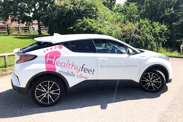 healthy feet franchise package car